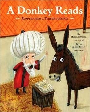 donkey reads