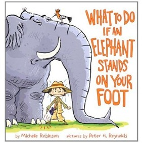 if an elephant stands