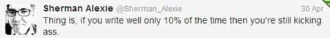 alexie tweet