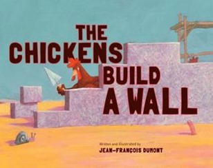 chickens build a wall