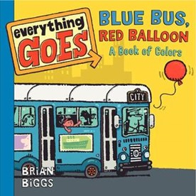 blue bus red balloon