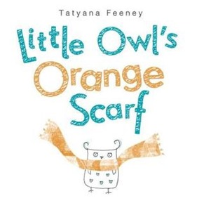 little owls orange scarf