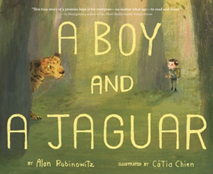 boy and a jaguar