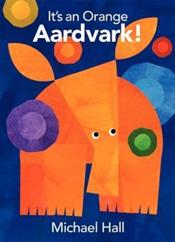its an orange aardvark