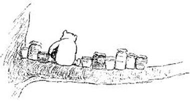 pooh honey pots