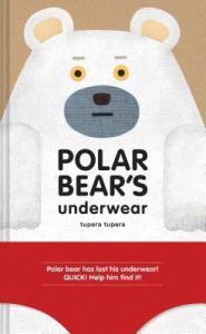 Polar Bears Underwear by Tupera Tupera