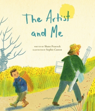 The Artist and Me by Shane Peacock