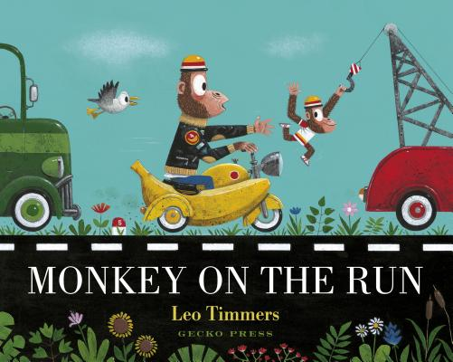 Monkey on the Run by Leo Timmers