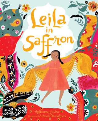Leila in Saffron by Rukhsanna Guidroz