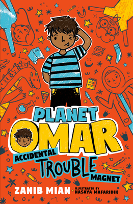 Planet Omar Accidental Trouble Magnet by Zanib Mian