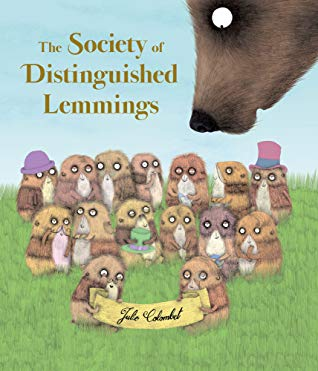 The Society of Distinguished Lemmings by Julie Colombet
