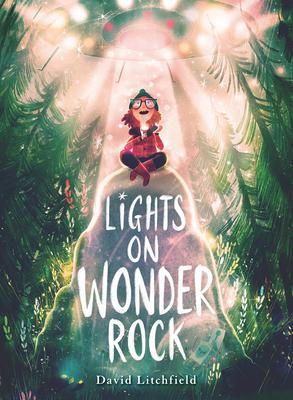 Lights on Wonder Rock by David Litchfield
